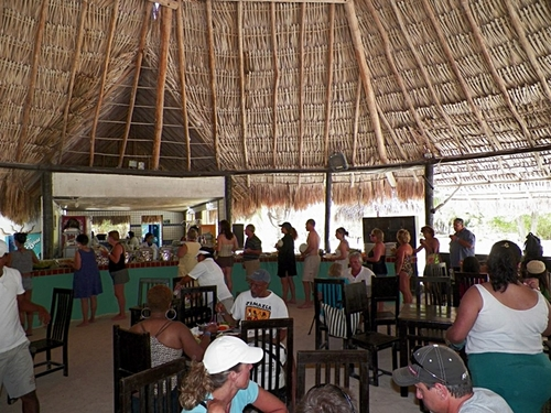 All you can eat passion island  Cozumel