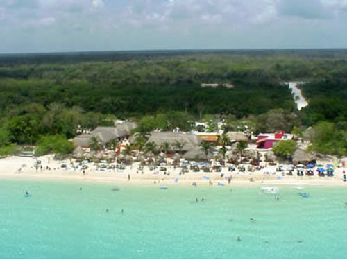 Aqua Park at Mr. Sanchos Beach Club Cozumel