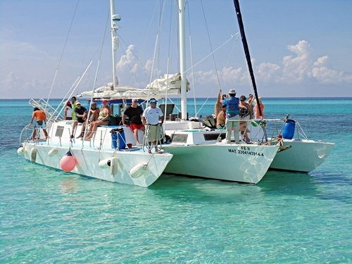 Catamaran Shore Excursions in Cozumel