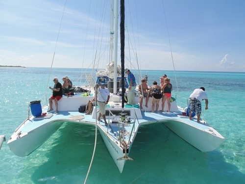 Cozumel catamaran sail and snorkel excursions