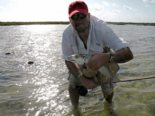 Cozumel flats fishing excursion.