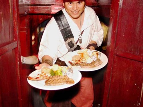 Cozumel Island pirate dinner Trip Booking