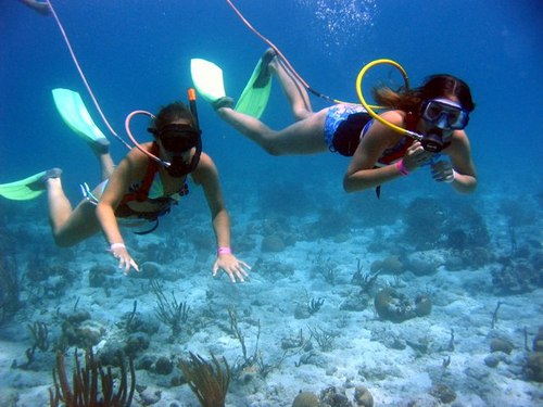 Cozumel Island SNUBA Diving and Snorkel Trip Reservations Tickets