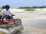 Cozumel Mayan Castillo Real and Mezcalitos Beach ATV Excursion