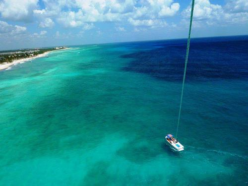 Cozumel Mexico bright blue water Excursion Reservations