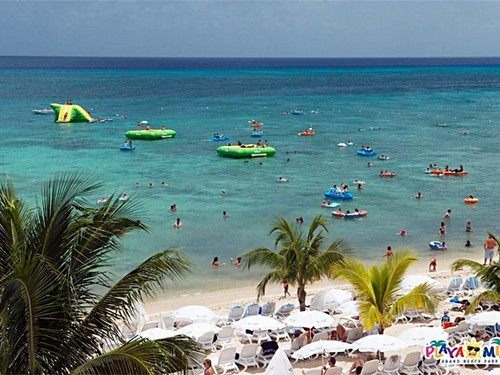 Cozumel Mexico Floating Water Park Tour Booking