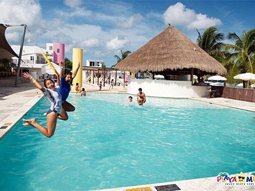 Cozumel Mexico floating water park  Tour Reviews
