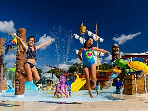 Cozumel Mexico floating water park  Trip Reviews