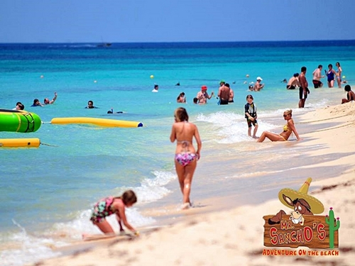 Cozumel Mexico floating water toys Shore Excursion Booking