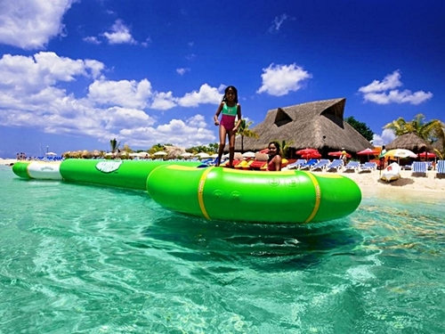 Cozumel Mexico water trampolines Tour Prices