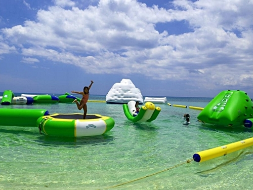 Cozumel Mr. Sanchos Beach Water Park.