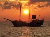 Cozumel Pirate Ship Lobster and Steak Dinner Cruise Excursion