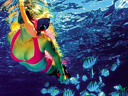 Cozumel snorkel gear included Cruise Excursion Tickets