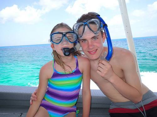 Cozumel snorkel gear provided Shore Excursion Booking