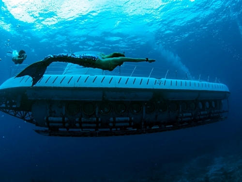 Cozumel submarine trips and shore trips