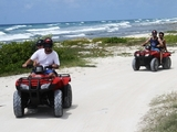 Cozumel Wild Side ATV, Mayan Ruin and Virgin Beaches Excursion