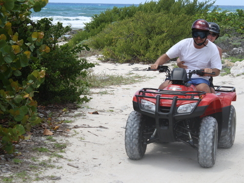 Cozumel Mexico all terrain vehicle Excursion Reservations