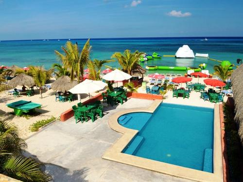 Mr Sanchos beach resort in Cozumel