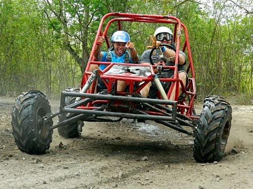 Jungle buggy jade caverns Cozumel excursions