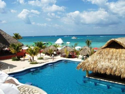 Cozumel Swimming Pool At Mr Sanchos All Inclusive Beach Club