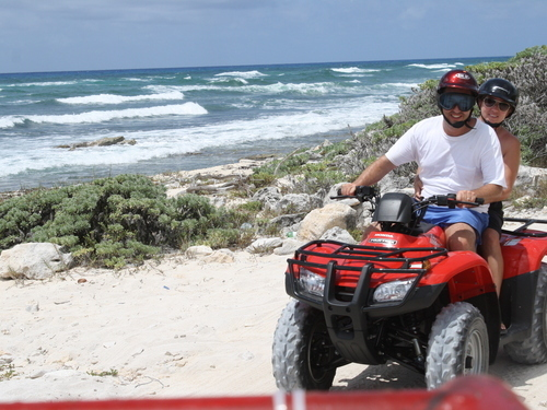 Cozumel wild side atv Cruise Excursion Reservations