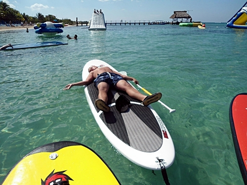 Cozumel paddle board shore trips