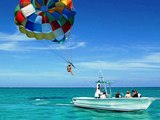 Parasailing at Allegro Resort Cozumel