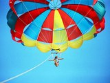 Parasailing at Occidental Resort Cozumel