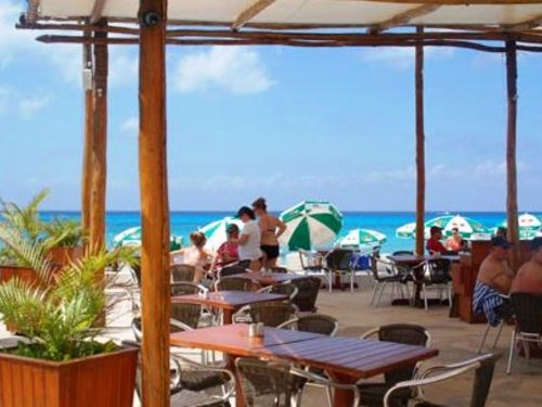Playa Uvas beach club in Cozumel, Mexico