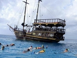 Private Pirate Boat Snorkel, Party and Lunch Tour