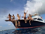 Private Yacht Snorkel and Fishing Charter