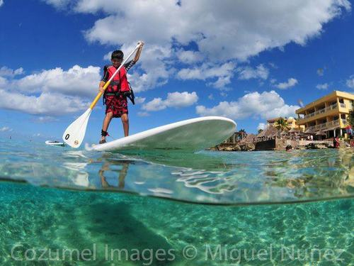 Stand up paddle board Cozumel