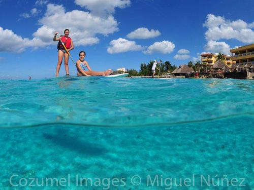SUP shore excursions in Cozumel Mexico