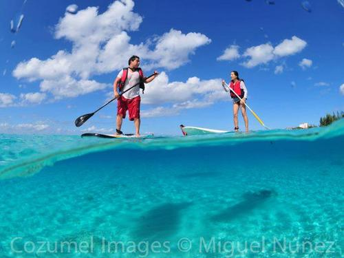 SUP tours in Cozumel