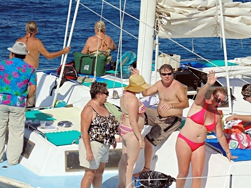Cozumel Trimaran Sail and Snorkel Excursions